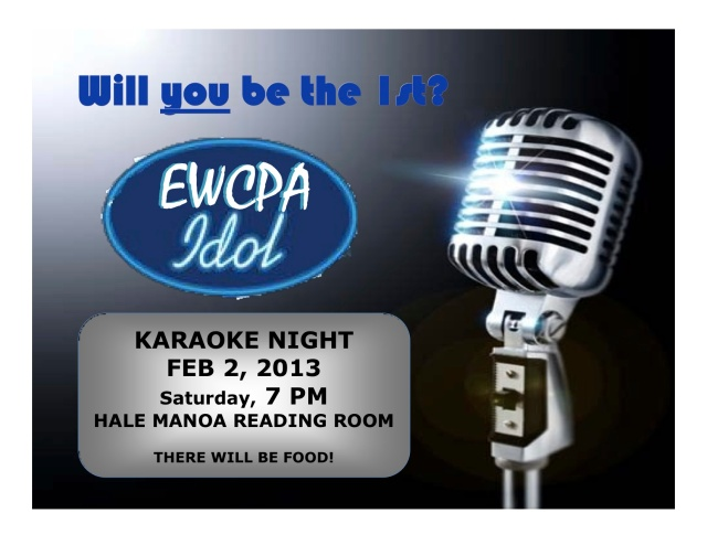 EWC Idol (Karaoke Night)